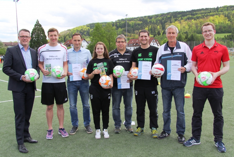 Offizieller Startschuss für die Fußballpartnerschaft