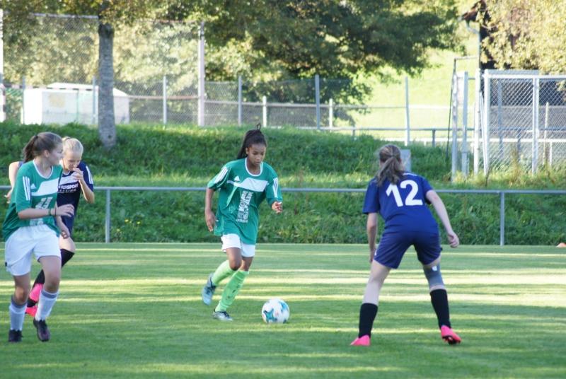 War in der zweiten Hälfte eine wichtige Stütze für ihr Team und in jeder Hinsicht schneller als ihre Gegnerinnen: Fatou