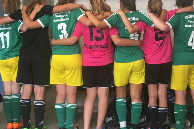 Hielten sich trotz ausgeloster Teamkonstellationen sehr souverän: Unsere beiden Juniorteam-Mannschaften